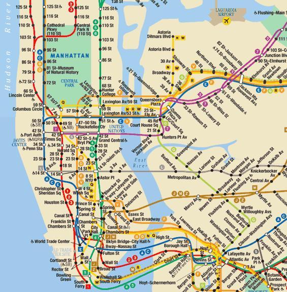 brooklyn new york city subway map Nyc Subway Map Manhattan Brooklyn Global Sherpa brooklyn new york city subway map